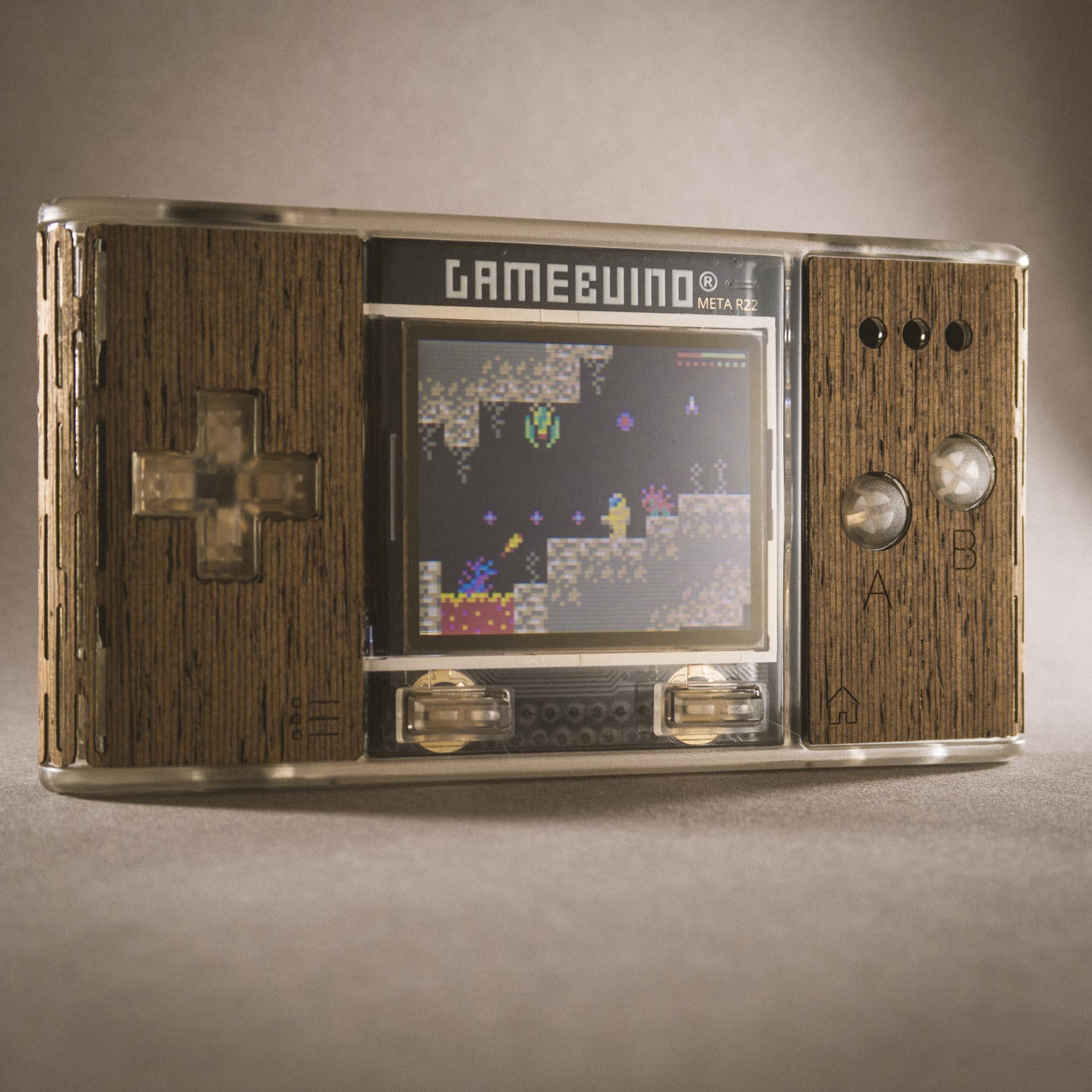 La Gamebuino, une GameBoy avec un Arduino
